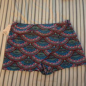 Coverup mini skirt